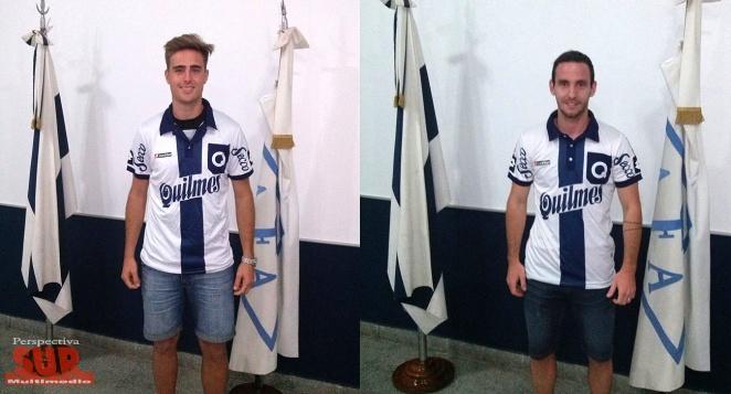 Elizari y Rescaldani firmaron sus contratos y son refuerzos de Quilmes