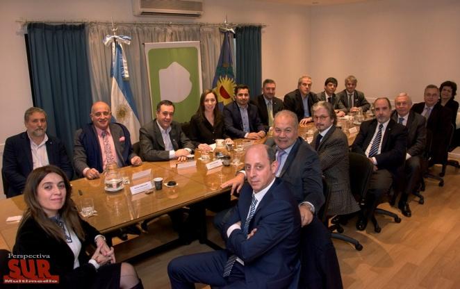 Vidal recibi� el apoyo de rectores en restituci�n del Fondo del Conurbano