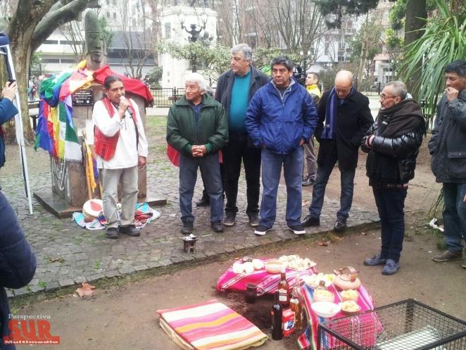 Comunidades indígenas de Quilmes celebraron el Día de la Pachamama