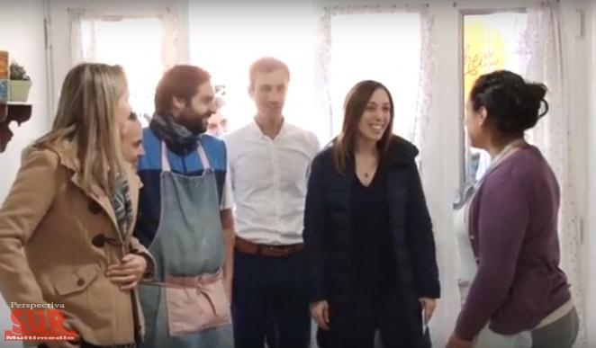 Vidal y Gladys González visitaron Pergamino y Junín