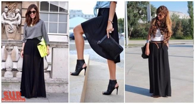 840fc2e67 Falda negra: ¡looks con estilo!