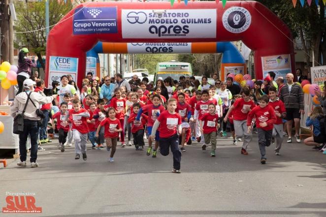 En Septiembre llega la 2º edición de la Maratón solidaria Quilmes 5K