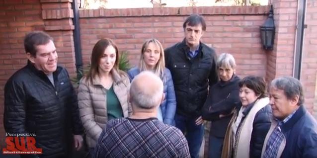 Vidal en Ituzaingó junto a los precandidatos de Cambiemos