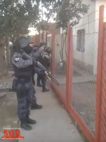"""Allanamientos en el barrio Novak: detuvieron a 4 """"rompepuertas"""""""