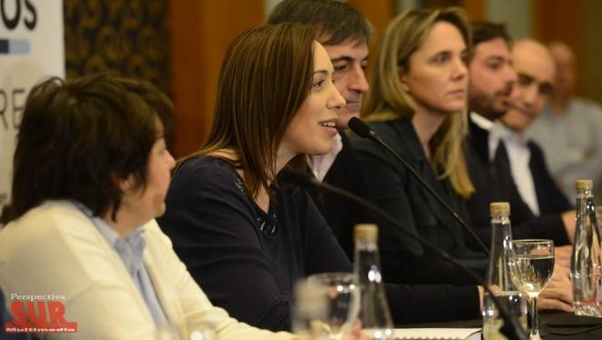 Vidal cruzó a los K por las demoras: No apoyaron el voto electrónico