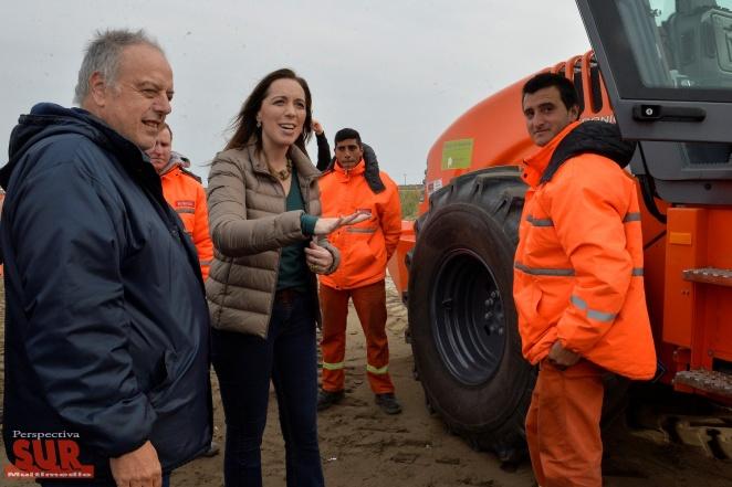 Vidal anunció la construcción de una segunda calzada en la ruta 11 y 56