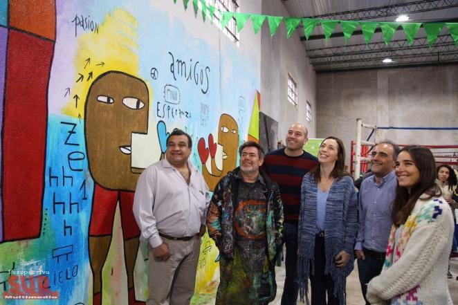 Vidal respaldó a Molina al inaugurar Un Día de Libros en Solano