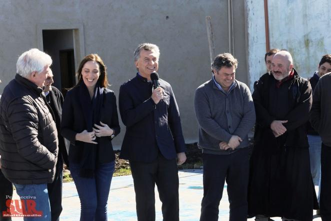 Macri y Vidal inauguraron las Casas de Encuentro Comunitario en Varela