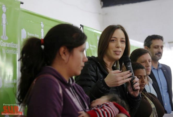 Vidal lanzó el programa Garantizar tu Identidad, para hacer el DNI a 48 mil chicos