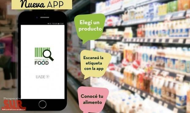 Una app permite escanear alimentos para saber si son buenos o no