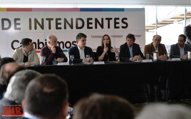 Vidal se reunió con intendentes bonaerenses de Cambiemos