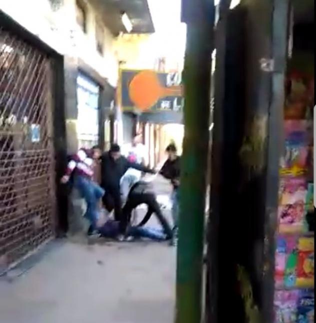 Brutal paliza a un joven tras una discusión en un colectivo 178