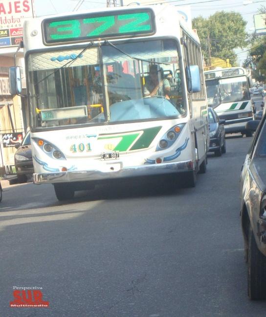 Avenida Mitre: Cambio de paradas de colectivos por obras de ensanche y repavimentación