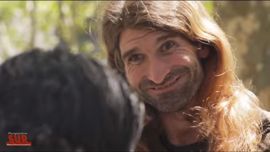 La más conocida imagen de Churrinche pertenece a un cortometraje