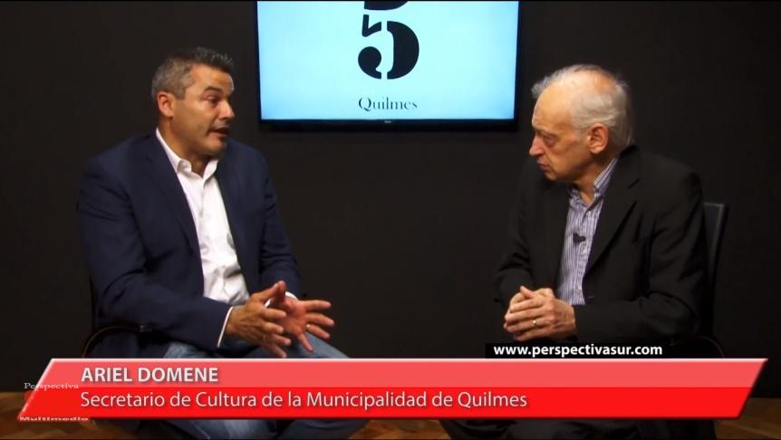 Domene hizo un balance de su gesti�n en Quilmes antes partir hacia la Provincia
