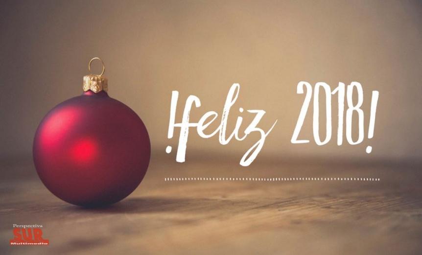 �Por otro gran a�o juntos, feliz 2018!