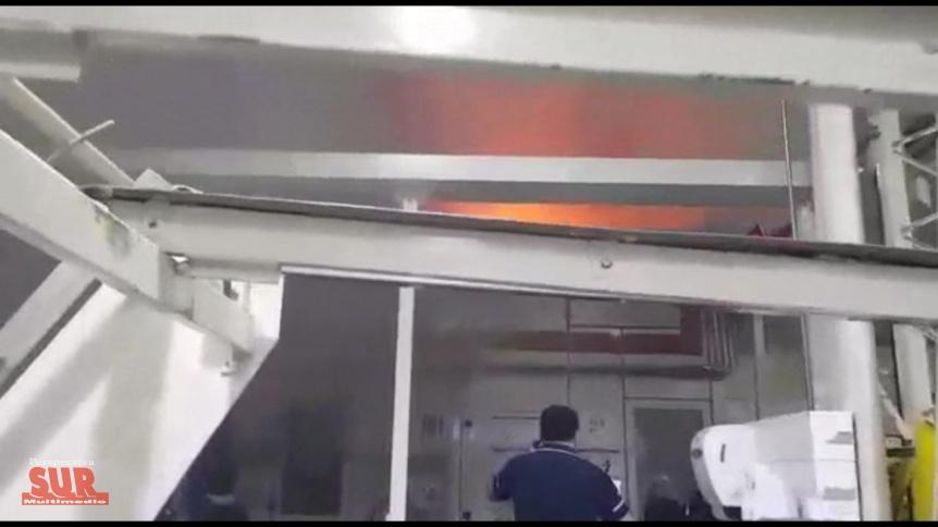 Tras el incendio en Kimberly Clark trabajadores piden medidas de seguridad
