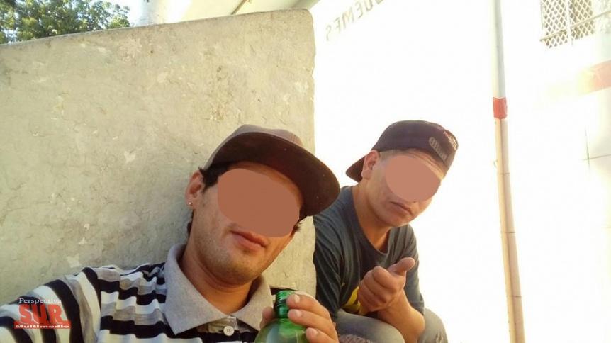 Escrachan a dos delincuentes que asaltan a mujeres en Berazategui