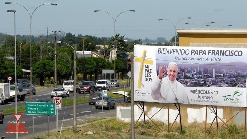Atacan iglesias de Chile y amenazan al Papa: