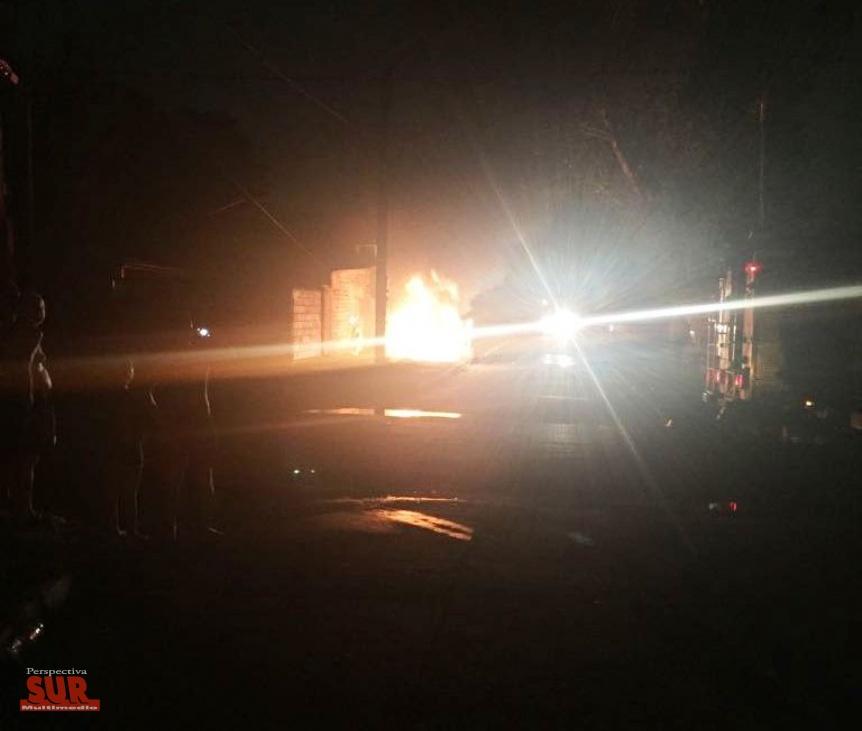 Susto vecinal al incendiarse un transformador de Edesur en Quilmes Oeste