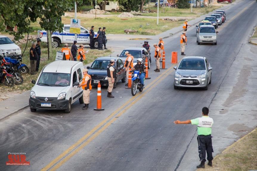 Seguridad: Quilmes y Lan�s intensifican los controles vehiculares en la regi�n
