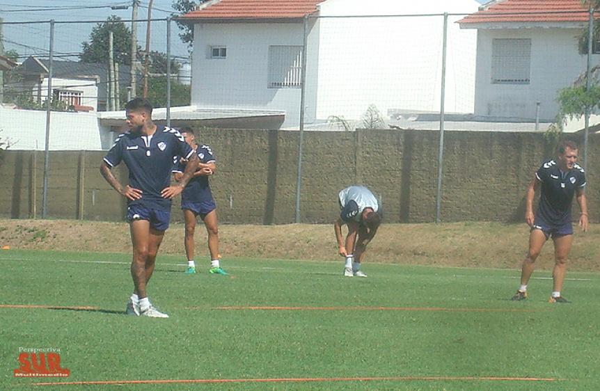 Quilmes hizo trabajos t�cticos y Gabriel Ram�rez se meti� en el equipo