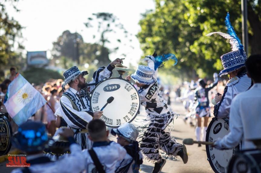 Todo listo para el carnaval 2018 en la Ribera de Quilmes