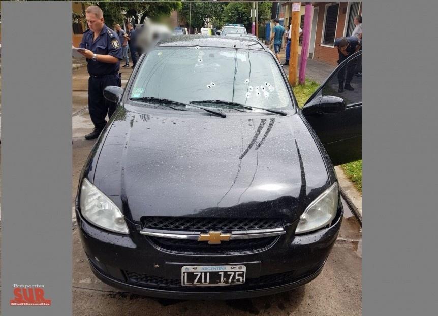 Feroz balacera en Quilmes centro en intento de robo