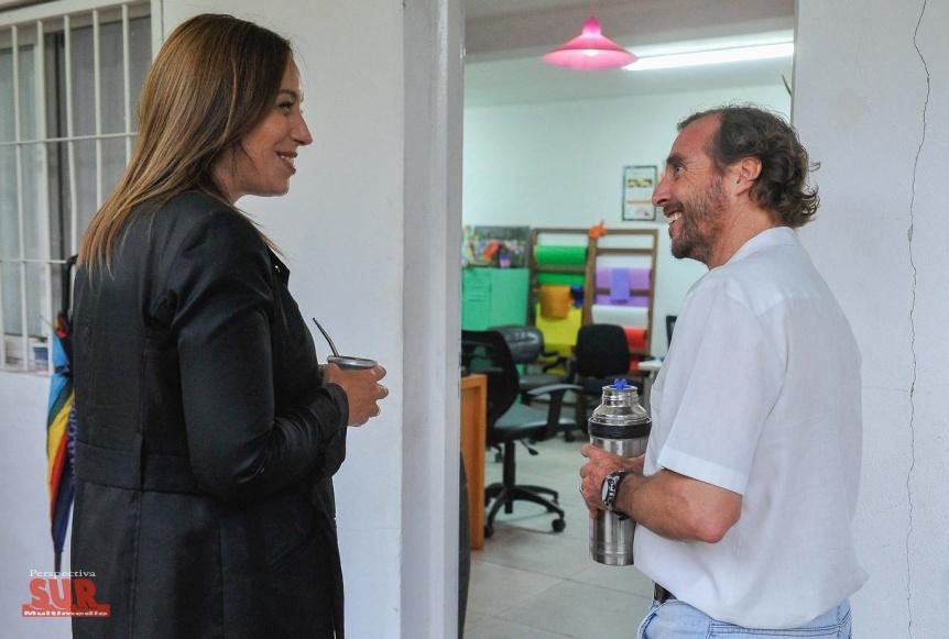 La gobernadora Vidal visitó un comedor comunitario en Tigre