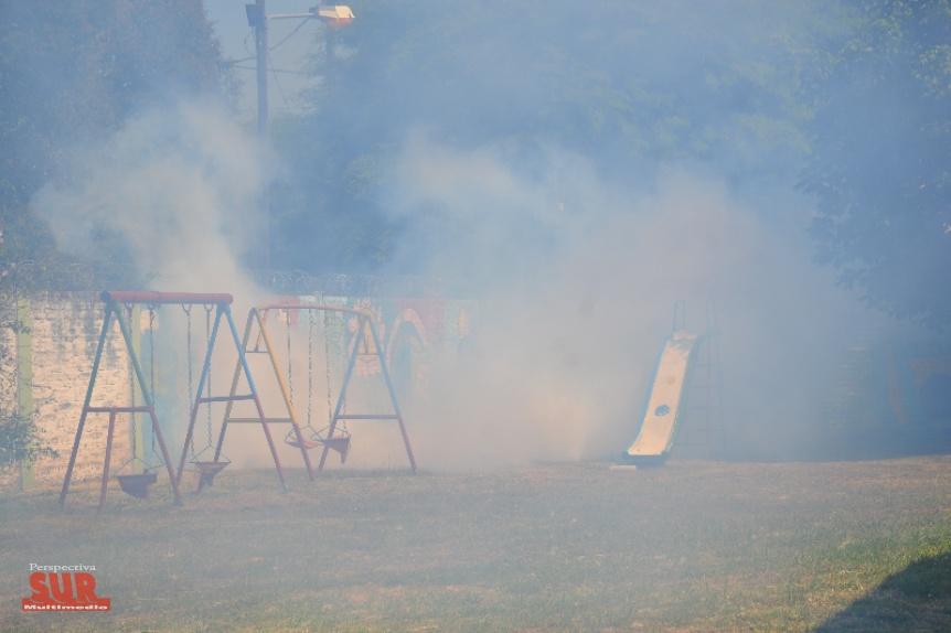 Fumigaci�n en jardines infantes municipales de Florencio Varela