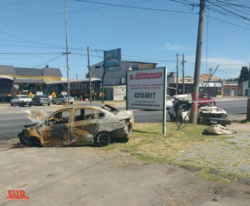 Grave choque en Quilmes Oeste