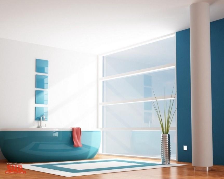 Azul: refrescante y vital