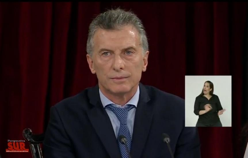 Macri abrió las sesiones ordinarias en el Congreso de la Nación