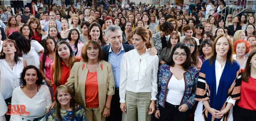 Macri anunci� una ley para la equidad de g�nero y ampliaci�n de licencias
