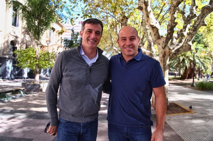 Molina y Bullrich coordinaron trabajos de inclusi�n y desarrollo social en Quilmes