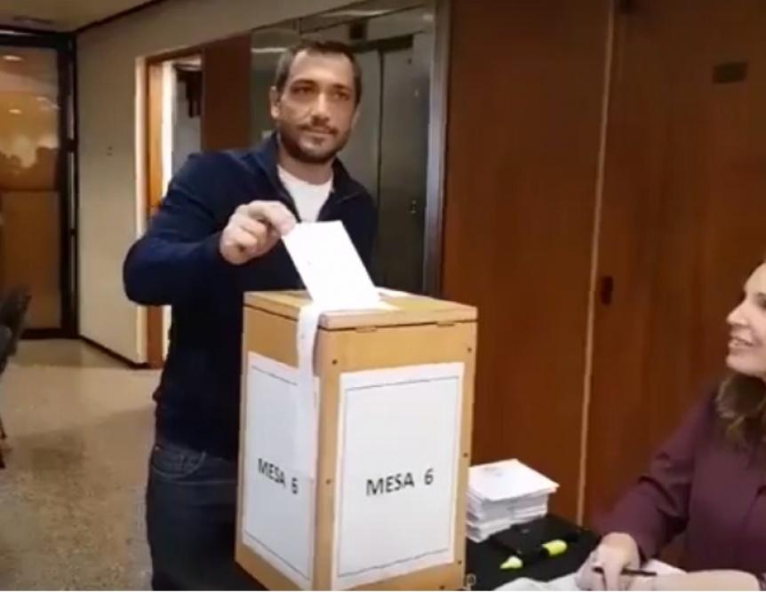 Patricio Mussi tambi�n vot� en las internas del Colegio de Abogados