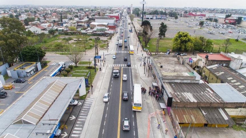 El Metrobus de Calchaquí tendrá 8,7 Km de extensión