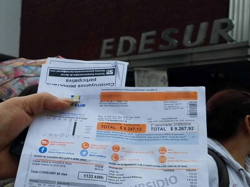 Los municipios no podrán añadir cargos en las facturas de luz