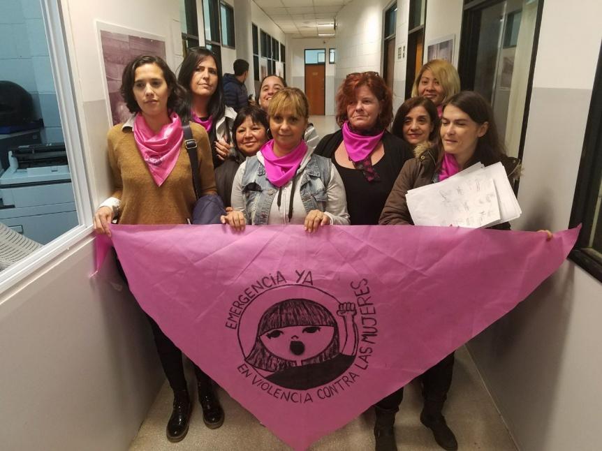 Nueva presentación por la emergencia en violencia contra las mujeres