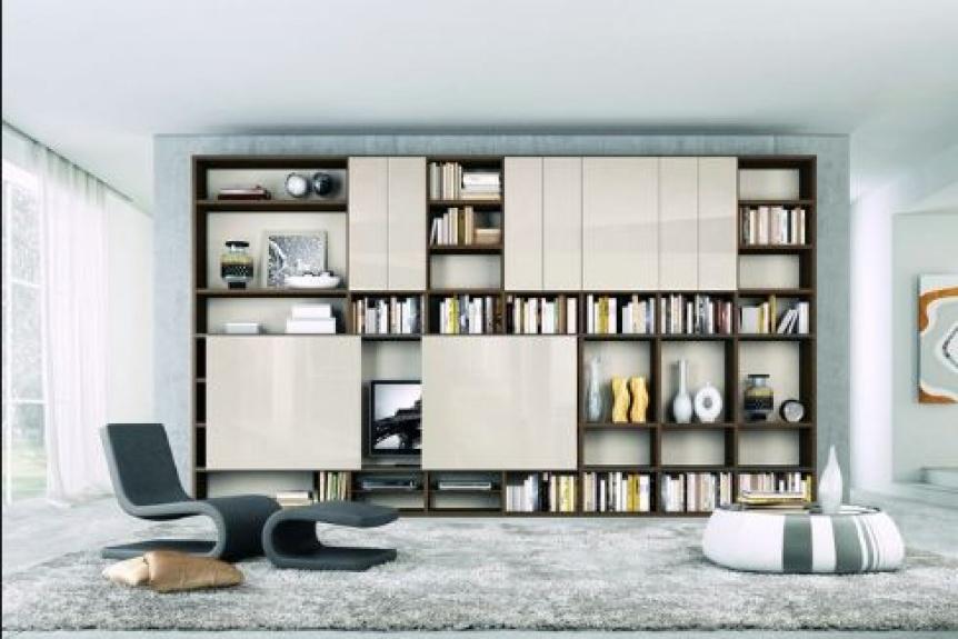Bibliotecas en casa