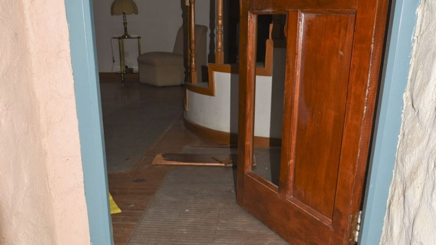 Rompe puertas robaron en una casa de Quilmes Oeste