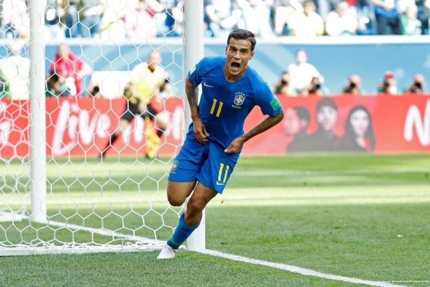 Brasil sufri� mucho pero le gan� a Costa Rica en el descuento