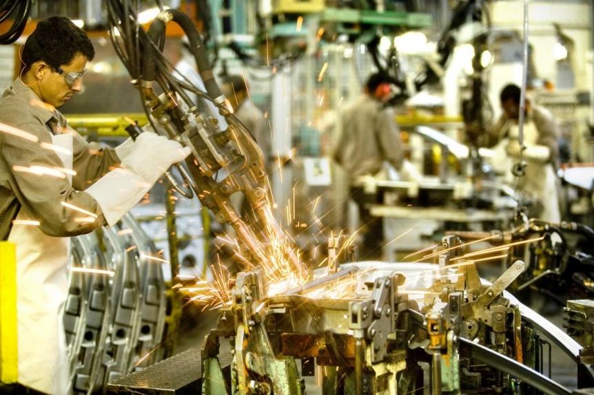 INDEC: la capacidad industrial cayó 2,5% en mayo