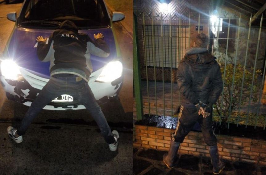Aprehenden a dos en una moto robada: Tienen 15 a�os