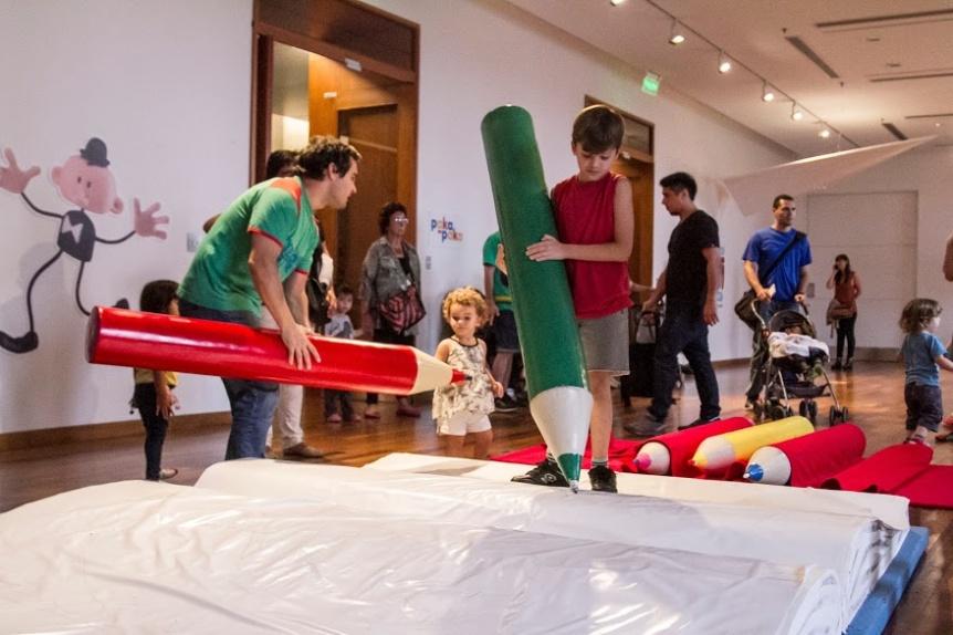Instalaciones interactivas y salas participativas para chicos en el CCK