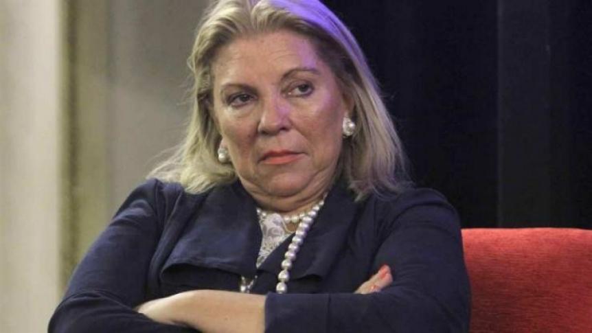 """Carrió pide se considere """"homicidio"""" la muerte de un testigo en Quilmes"""