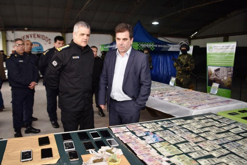 Desbarataron peligrosa banda narco en Berazategui