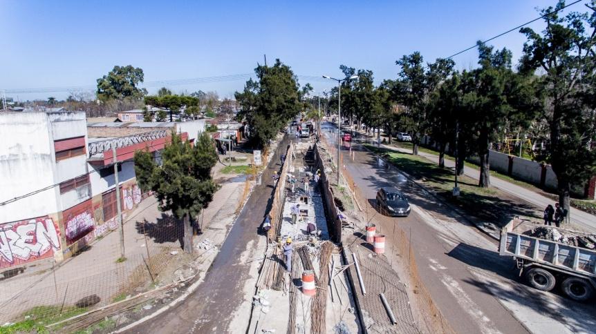 El Municipio y la Naci�n trabajan en una obra hist�rica para la Ribera de Quilmes