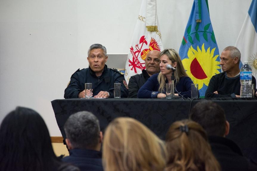 Trabajo intersectorial para desalentar las amenazas de bombas en escuelas de Varela