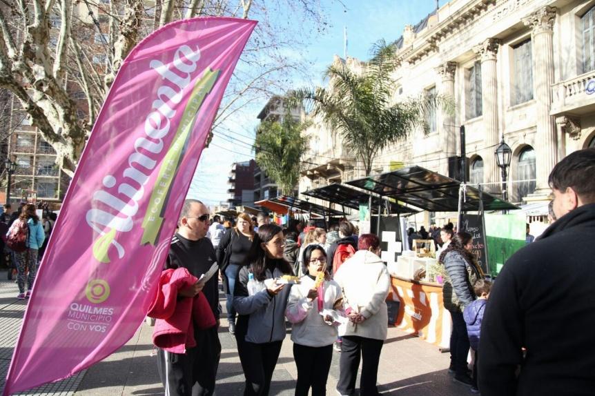 Alimenta regresa a la Plaza San Mart�n con una gran propuesta para disfrutar del fin de semana largo